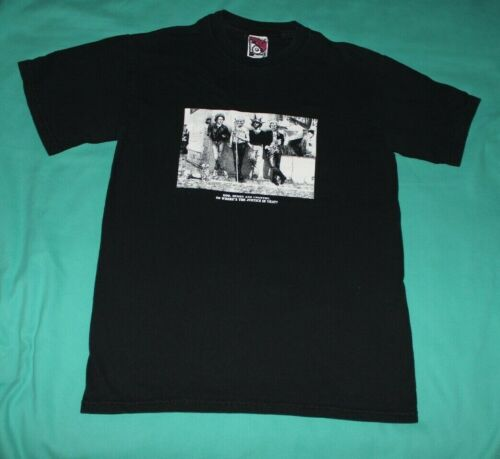 Vintage Sex Pistols Political Shirt Chaser Small Black God Queen Country Justice