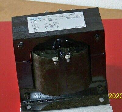 50-1500-053 Dongan 240 X 480 To 120 Volt Ac Single Phase Control Transformer