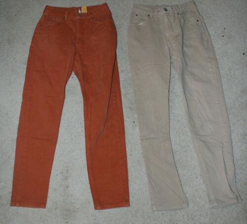 3 Vtg Calvin Klein Faded Jeans Women