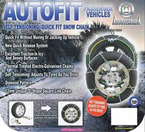 Snow Chains 4x4 15 16 17 18 Inch Wheels Tyres New 410 Coorparoo Brisbane South East Preview