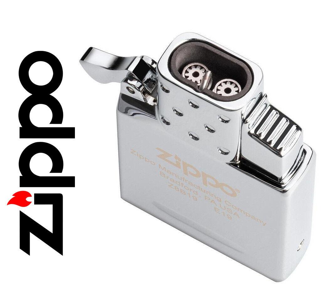 DUAL TORCH Zippo Blue Jet Cigar Lighter Insert Refillable Al