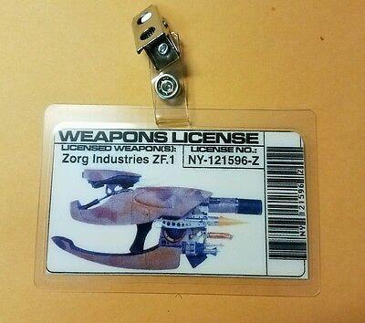 Fünfte Element Id Badge-Weapons Lizenzierte Kostüm Requisite Cosplay ()