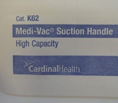 Cardinal Health K62 Medivac Suction Handle High Capacity Lot Of 68