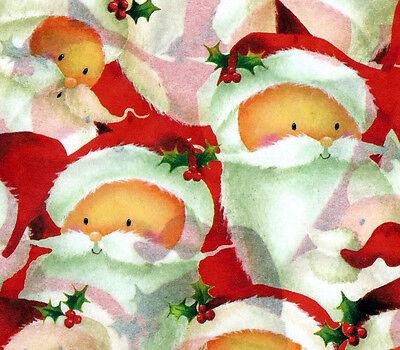 Jolly Santa ~ Christmas Tissue Paper # 787 ~ 10 Large Sheets ](Christmas Tissue Paper)
