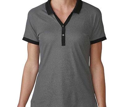 Adidas Mujer Polo Piqué (S) AE4654 Negro