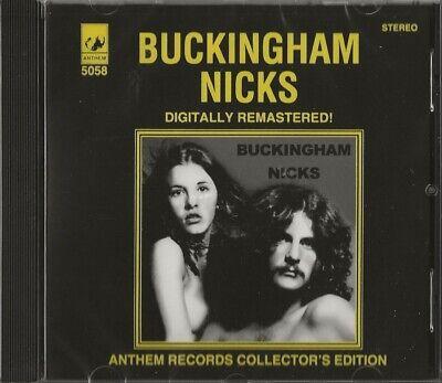 BUCKINGHAM NICKS - STEREO CD - ANTHEM RECORDS - AUSTRALIA IMPORT - NEW & SEALED
