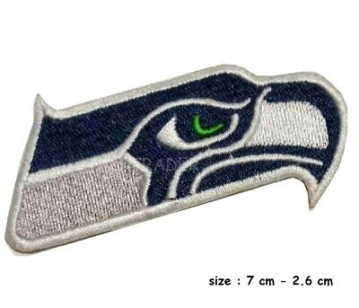 Seattle Seahawks Logo Iron-on Embroidered PATCH fancy costume for jeans cloths](Seattle Seahawks Costume)