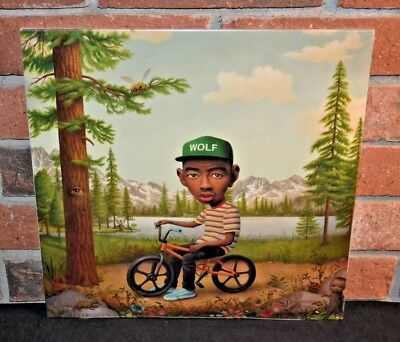 TYLER THE CREATOR - Wolf, Limited 2LP PINK COLORED VINYL + CD Gatefold NEW!
