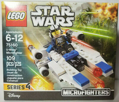 New Disney Lego Star Wars75160 U-Wing Microfighter 109 Pcs Series 4 Sealed Box