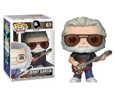 Funko Jerry Garcia Pop  Rocks 61 Grateful Dead Collectible Vinyl Figure In Stock