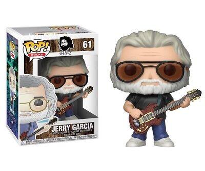 Funko Pop Rocks Jerry Garcia  61 New Vinyl Figure