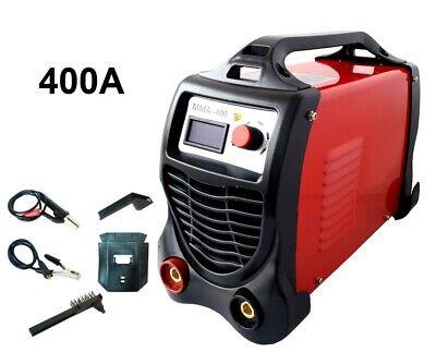 Máquina de Soldadura A Electrodo Eléctrica Inversor 400 Amperio + Accesorios