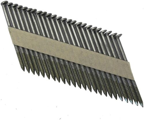 Grip Rite GRP10RHGH1, Paper Tape Offset Round Head Collated Framing Nails, FS