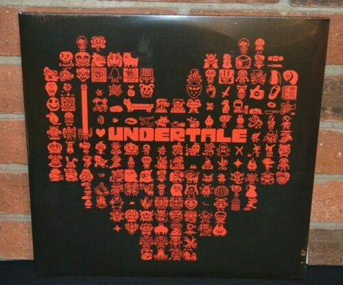 UNDERTALE - Soundtrack, Limited 180G 2LP RED + BLUE VINYL Gatefold + Inserts NEW