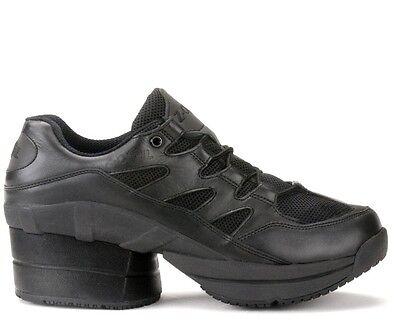 Z-Coil Freedom S/R FW-02420 WOMEN'S Walk/Run Shoe Black 8 US ENCLOSED COIL DS
