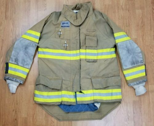 Morning Pride Ranger Firefighter Bunker Turnout Jacket w/ DRD 44 x 34