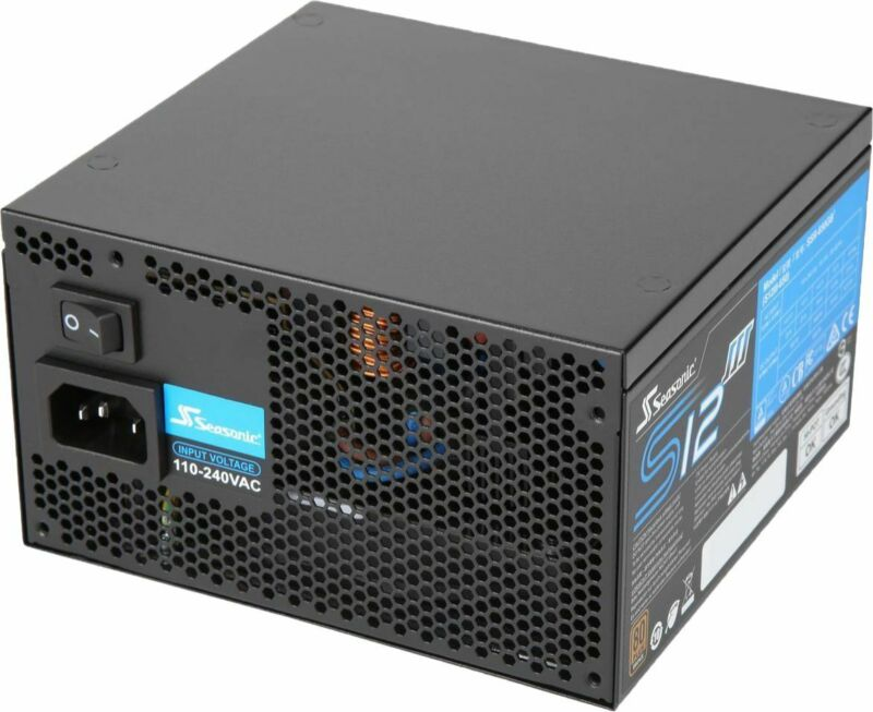 Seasonic - SSR-650GB3, 650W 80+ Bronze PSU, ATX12V/EPS12V, Direct Output, Sma...
