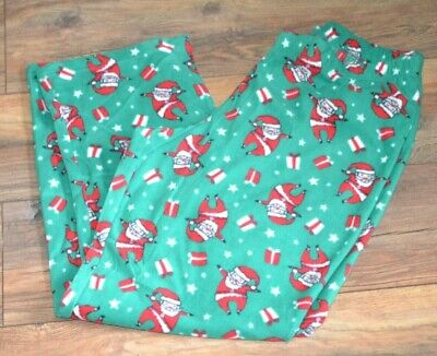 Family Pjs For Christmas (Santa Clause Christmas Jammies for Your Families FLEECE LOUNGE PANTS PJ)