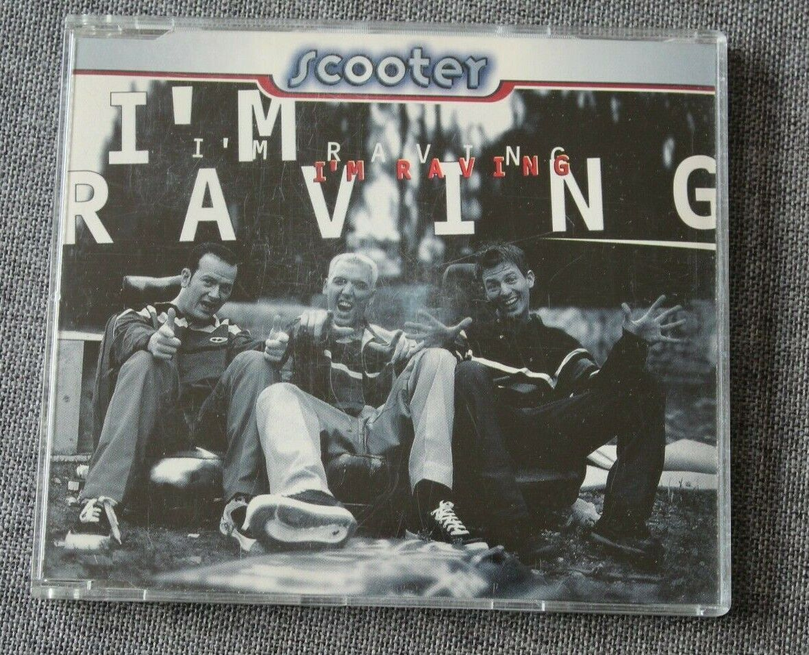 Scooter, i'm raving, maxi cd