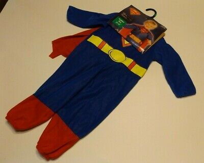 Superman Infant & Toddler Costume, Rubies, Man of Steel, - Man Of Steel Toddler Costume