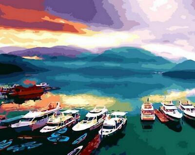 Sun Moon Lake, Taiwan - Van-Go Paint-By-Number Kit
