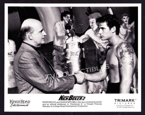 8x10 Photo~ KICK BOXER 2 ~1991 ~Shirtless Sasha Mitchell ~Peter Boyle ~Boxing