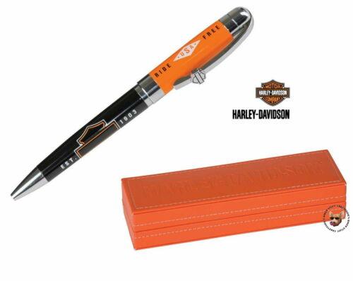 Harley Davidson® Bar & Shield Ride Free Black Ink Pen in Gift Box