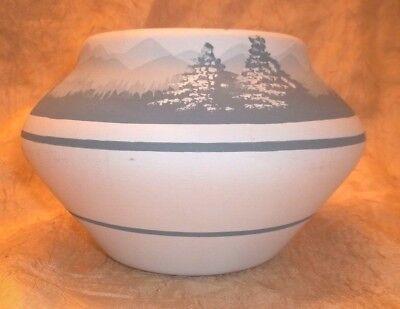 Kopa Hopi Seed Pot Artist Signed Sw123 Bastedo Mountain Vista Arizona Native Art