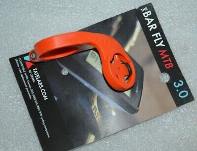 Bar Fly 1//8 Turn Garmin Computer Handlebar Mount Bracket 22.2mm Black TT Tri
