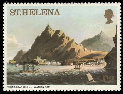 """ST. HELENA 310 (Mi331A) - """"Sugar Loaf Hill"""" by J. Wathen (pa83563)"""