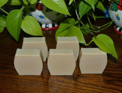 Magical Myst Soap Handmade Natural NUBIAN GOAT MILK Aloe UNSCENTED  Anti Aging