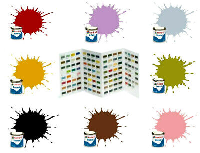 Humbrol Enamel Paint 14ml Tinlet For Modelling Select From Over 150 Colours