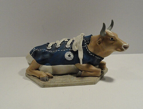 Cow Parade Moo Shoe Figurine # 9125