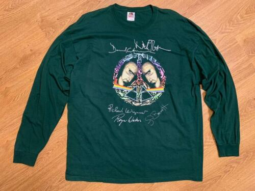 Pink Floyd Peace Vintage Mens Long Sleeve Tee T-Shirt Size 2XL