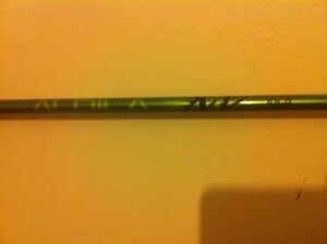 MENS ALDILA NV GREEN 65-R REGULAR FLEX GRAPHITE WOOD DRIVER OR WOOD SHAFT 335