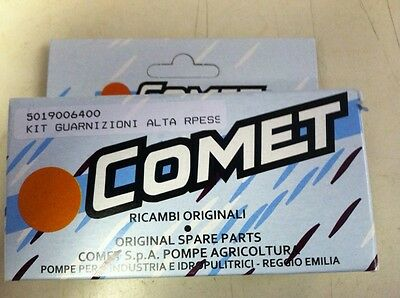 Comet Pressure Washer Pump Seal Kit Zwd New In The Box 5019006400