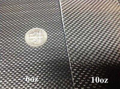 Black Fiberglass Carbon Fiber Look Cloth Fabric Plain Weave 38 6oz Style3733