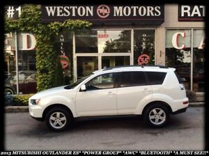 2013 Mitsubishi Outlander ES*POWER GROUP*AWC*BLUETOOTH*A MUST SE