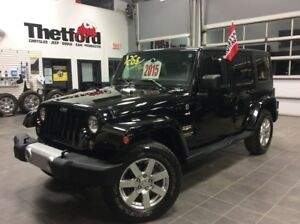 2015 Jeep Wrangler Unlimited SAHARA/NAVIGATION/2 TOIT/126$SEM.TO