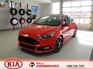 2015 Ford Focus ST * MAGS *CUIR*TOIT*CAMERA RECUL*CRUISE*A/C*