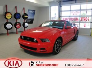 2014 Ford Mustang GT CONVERTIBLE *CUIR*A/C*SIEGES CHAUFFANTS*CRU
