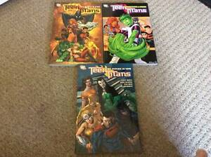 Teen Titans Graphic Novel set DC Robin Superboy Kid Flash NEW Margate Redcliffe Area Preview