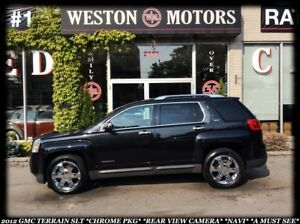 2012 GMC Terrain SLT *CHROME PKG *REAR VIEW CAMERA *NAVI *BLUE-T
