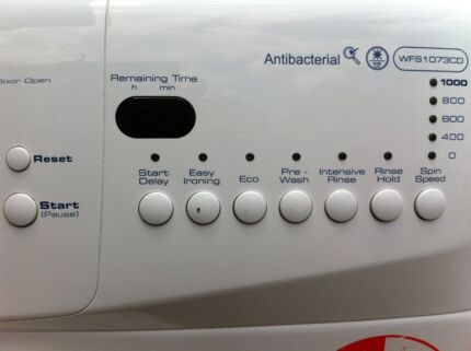 7.5KG Whirlpool Antibacterial Washer .. Like new with manual book