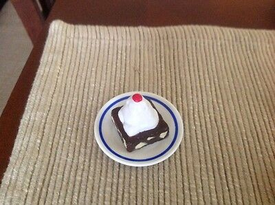 """18"""" doll brownie cake dessert food fit American Girl Our Generation toy bakery"""