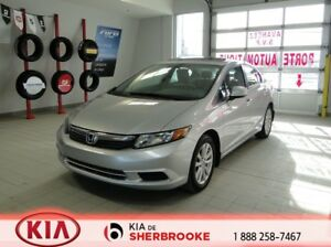 2012 Honda Civic Sdn EX TOIT * MAGS * A/C * CRUISE *BLUETOOTH *