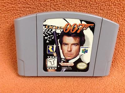 Goldeneye 007  Authentic  Nintendo 64 N64 Game Super Fast Free Shipping