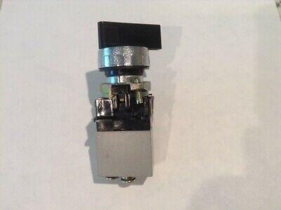 Camozzi Pneumatic Manually Operated Rotary Mini Valve 234-000 Made In Italy