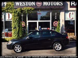 2010 Pontiac G5 *4-DOOR *AUTO *POWER GROUP *1-OWNER *CERT&E-TEST