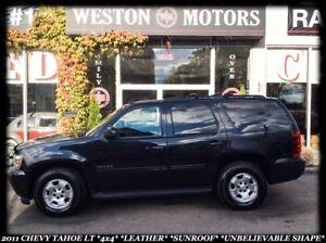 2011 Chevrolet Tahoe LT **4X4 *LEATHER *SUNROOF *UNBELIEVABLE SH